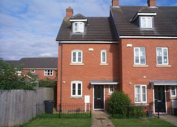 Thumbnail 3 bed end terrace house for sale in Mallard Court, Oakham