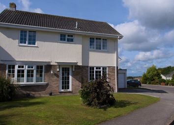 Thumbnail 3 bed link-detached house for sale in Shute Hill, Falmouth, Cornwall