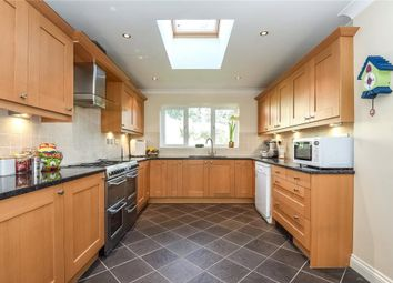 Thumbnail 5 bed detached house to rent in Knights Way, Camberley