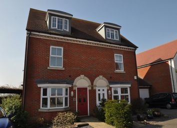 Thumbnail 3 bed semi-detached house to rent in Hedgers Way, Kingsnorth, Ashford