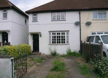 Thumbnail 2 bed end terrace house for sale in Brinkley Road, Worcester Park, Surrey