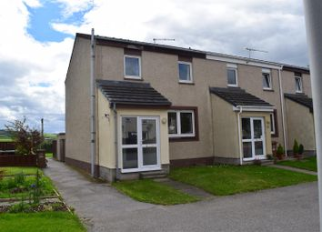 Thumbnail End terrace house for sale in Abbey Crescent, Kinloss, Forres