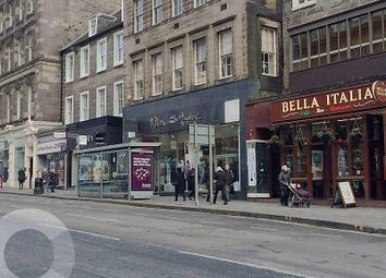 Thumbnail Retail premises to let in Hanover Street, Edinburgh