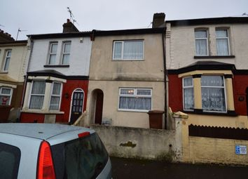 Thumbnail 3 bed terraced house to rent in Strover Street, Gillingham
