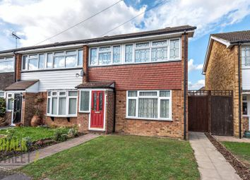 Thumbnail 3 bed end terrace house for sale in West Malling Way, Hornchurch