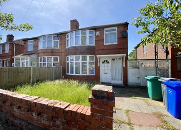 Thumbnail 4 bed semi-detached house to rent in Hatherley Road, Manchester