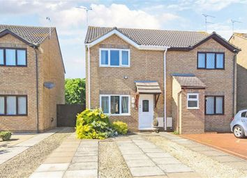 Thumbnail 2 bed semi-detached house for sale in Evergreens Close, Swindon, Wilts