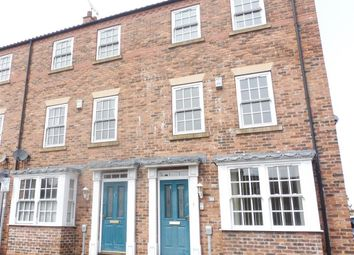 Thumbnail 3 bed town house to rent in Beckside North, Beverley