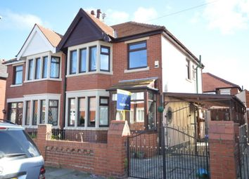 Thumbnail 3 bed semi-detached house for sale in Gildabrook Road, Blackpool