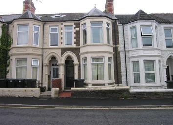 Thumbnail 4 bed terraced house to rent in Mackintosh Place Roath, Cardiff