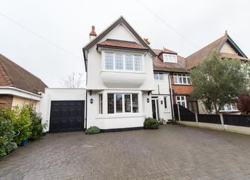 Thumbnail 4 bedroom semi-detached house for sale in Elm Grove, Thorpe Bay