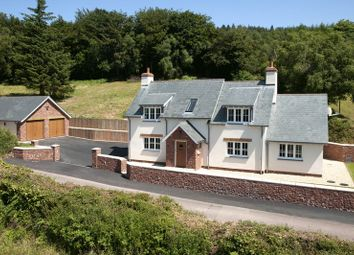 Thumbnail 4 bed detached house for sale in Luxborough, Watchet