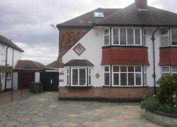 Thumbnail 4 bedroom semi-detached house to rent in Edenfield Gardens, Worcester Park