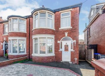 Thumbnail 3 bed semi-detached house for sale in Blenheim Avenue, Blackpool, Lancashire, .