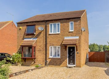 Thumbnail 2 bed semi-detached house for sale in Red Barn, Turves, Peterborough, Cambridgeshire