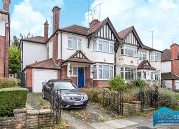 Thumbnail 4 bed semi-detached house for sale in Courtleigh Gardens, Hampstead Garden Suburb, London