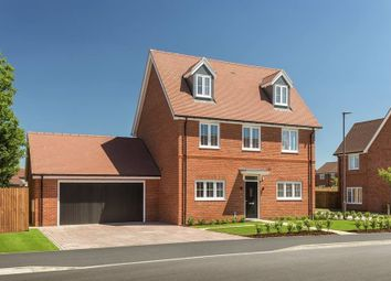 "Thumbnail 4 bed detached house for sale in ""The Oatvale"" at Weston Road, Aston Clinton, Aylesbury"