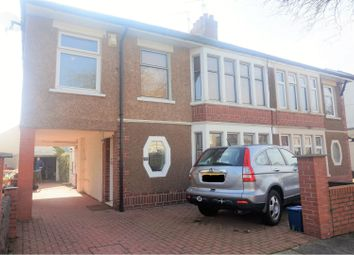 Thumbnail 4 bed semi-detached house for sale in St. Cadoc Road, The Heath