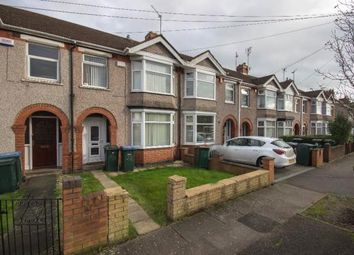 Thumbnail 3 bedroom terraced house for sale in Clovelly Road, Coventry