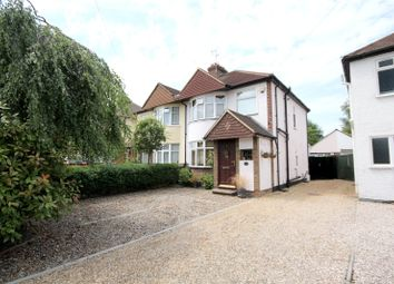 Thumbnail 3 bedroom semi-detached house for sale in Woodham Lane, New Haw, Surrey