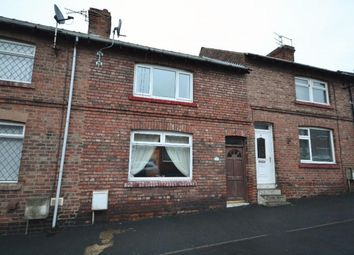 Thumbnail 2 bed terraced house for sale in Wylam Street, Bowburn, Durham