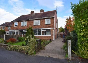 Thumbnail 3 bed semi-detached house for sale in Fairway Close, Allestree, Derby