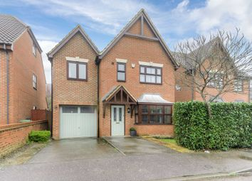 Thumbnail 4 bed detached house for sale in Malton Close, Monkston, Milton Keynes