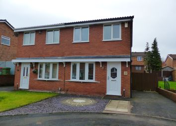 Thumbnail 2 bedroom semi-detached house to rent in Whitebeam Close, The Rock, Telford