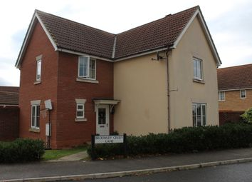 Thumbnail 4 bed detached house for sale in Broomley Green Lane, Bury St. Edmunds