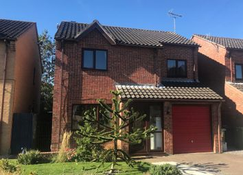 Thumbnail 4 bed detached house for sale in Ambleside Gardens, Gunthorpe, Peterborough