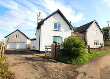 Thumbnail 4 bed detached house for sale in Llanddewi Rhydderch, Abergavenny