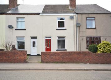 Thumbnail 2 bed terraced house to rent in High Street, Stonebroom, Alfreton