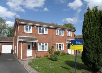 Thumbnail 3 bed semi-detached house to rent in Swallow Close, St Peters, Worcester