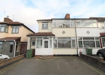 Thumbnail 4 bed end terrace house to rent in Lawrence Crescent, Edgware, Middlesex