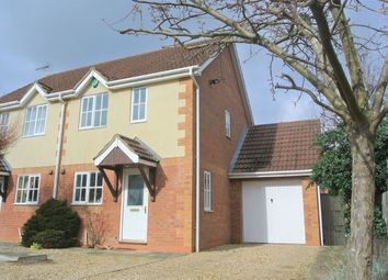 Thumbnail 2 bed semi-detached house for sale in Wordsworth Grove, Bourne, Lincolnshire
