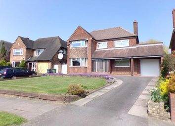 Thumbnail 3 bedroom detached house for sale in Lake Avenue, Walsall