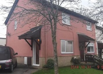 Thumbnail 2 bed semi-detached house to rent in The Hollies, Brynsadler, Pontyclun