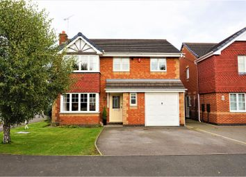 Thumbnail 4 bed detached house for sale in Kingsmead, Stretton, Burton-On-Trent