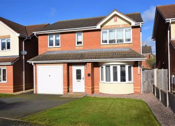 Thumbnail 4 bed detached house for sale in Davenport Drive, Admaston, Telford