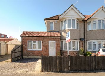 Thumbnail 3 bed end terrace house for sale in Torcross Road, South Ruislip, Middlesex