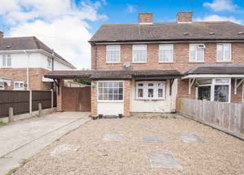 Thumbnail 3 bed semi-detached house for sale in The Crescent, Blaby, Leicester
