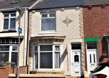 Thumbnail 4 bed terraced house to rent in Percy Street, Hartlepool