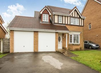 Thumbnail 4 bedroom detached house for sale in Brampton Drive, Bamber Bridge, Preston