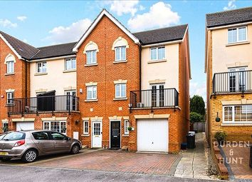 Thumbnail 3 bed town house for sale in Genas Close, Ilford
