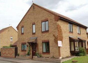 Thumbnail 3 bed semi-detached bungalow for sale in Hoylake Drive, Farcet, Peterborough