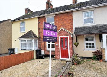 Thumbnail 2 bedroom terraced house for sale in Beechcroft Road, Swindon