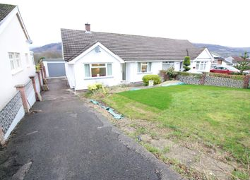 Thumbnail 2 bed semi-detached bungalow for sale in Broadmead, Gilwern, Abergavenny