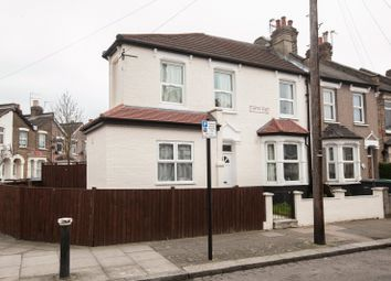 Thumbnail 4 bed end terrace house to rent in Clinton Road, London