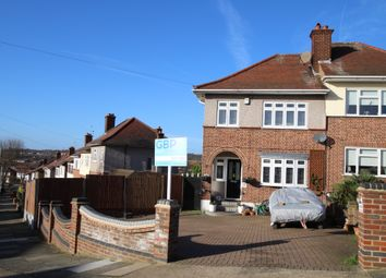 Thumbnail 3 bed semi-detached house for sale in Silvermere Avenue, Collier Row, Romford