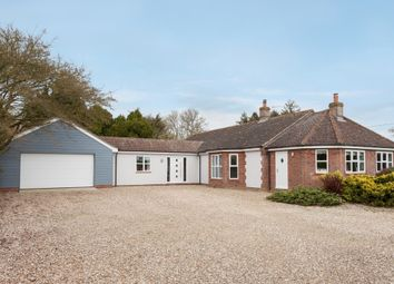 Thumbnail 4 bedroom detached bungalow for sale in Badley Moor, Dereham
